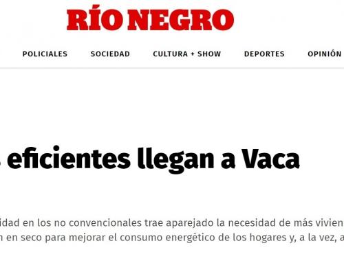 Thermolam en el Diario Río Negro: las casas eficientes llegan a Vaca Muerta